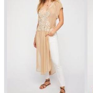 Free People Maxi Top